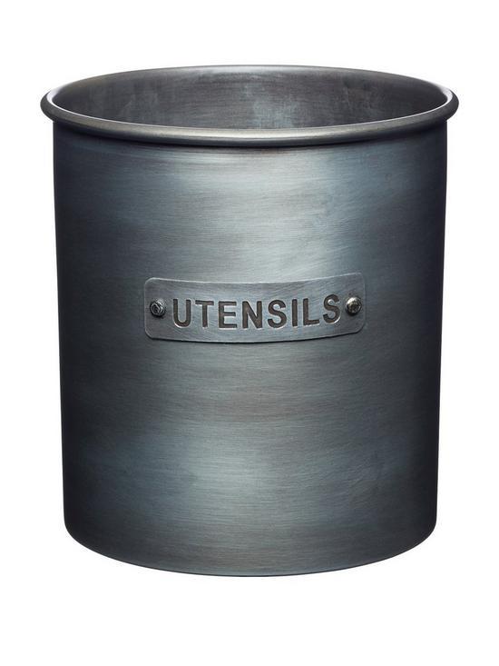 Kitchencraft Industrial Kitchen Metal Utensil Holder Very Co Uk