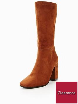 v-by-very-swish-slim-leg-calf-boot-olive