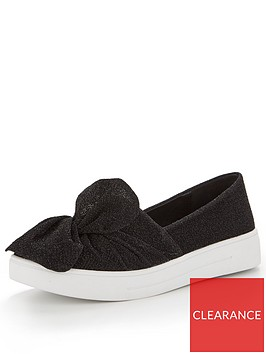 v-by-very-gia-knotted-front-trainers-black-lurex