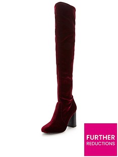 v-by-very-asia-block-heel-velvet-over-the-knee-boot-wine