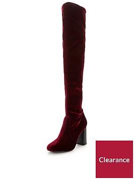 v-by-very-asia-block-heel-velvet-over-the-knee-boot-wine
