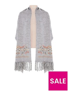 river-island-embriodered-sleeved-scarf