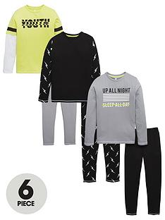 v-by-very-3-pack-lightening-bolt-pyjamas