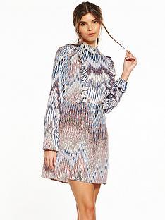 ax-paris-high-neck-printed-day-dress
