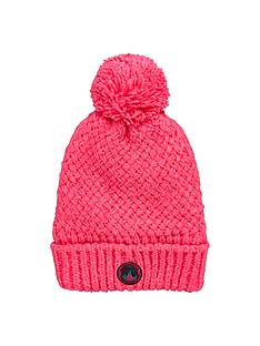 superdry-clarrie-pom-pom-hat-fluoro-pink
