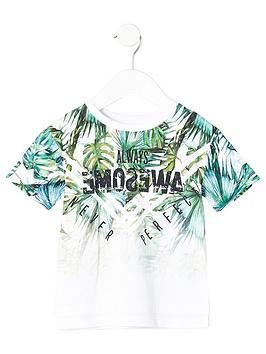 river-island-mini-boys-green-fade-palm-print-t-shirt