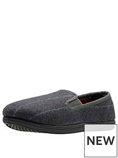 clarks-king-twin-slipper-grey