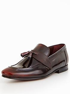 ted-baker-grafit-leather-tassle-loafer