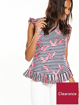 oasis-stripe-flamingo-shell-top