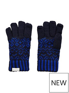 regatta-boys-snowflake-gloves