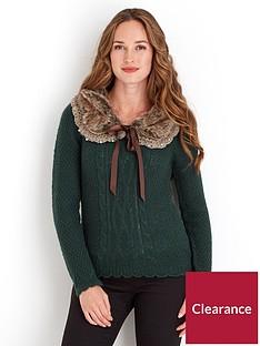 joe-browns-fabulous-faux-fur-collar-sweater