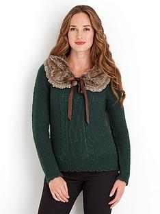 joe-browns-fabulous-fur-collar-sweater
