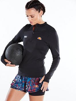ellesse-sport-cozze-half-zip-top-blacknbsp