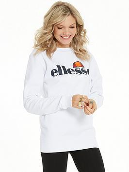Ellesse Agata Sweatshirt - White
