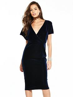 v-by-very-velvet-midi-dress