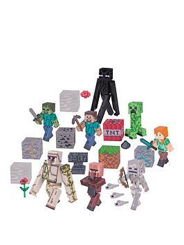 Photo of Minecraft deluxe figure overworld set