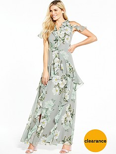 v-by-very-frill-printed-maxi-dress