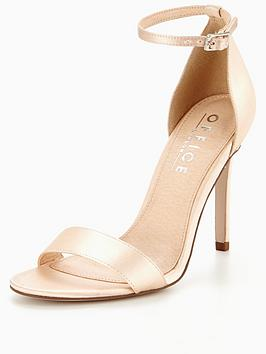 Office Hunter Barely There Sandal