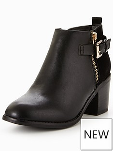 office-academy-buckle-ankle-boot