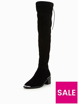 office-karma-2-flat-over-the-knee-boot
