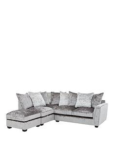 glitz-left-hand-fabric-corner-chaise-sofa