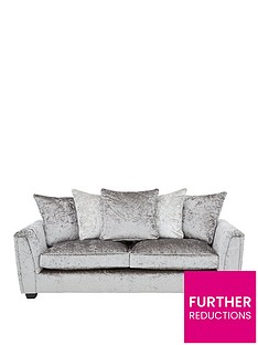 glitz-3-seater-fabric-scatter-back-sofa-greysilver-or-blackpewter