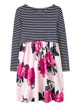joules-girls-layla-print-mix-dress