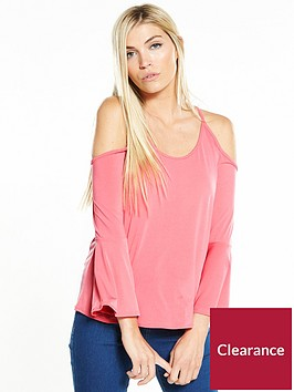 v-by-very-cold-shoulder-long-sleeve-slinky-top