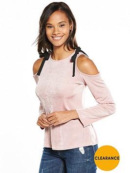 v-by-very-cold-shoulder-slinky-top-pink