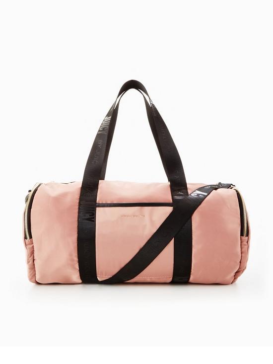 Juicy Couture Satin Barrel Gym Bag