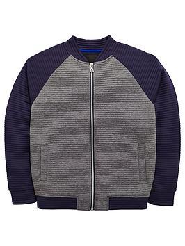v-by-very-boys-zip-thru-ribbed-bomber-jacket