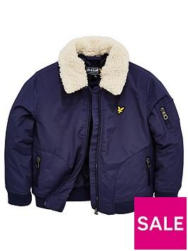 lyle-scott-boys-faux-shearling-collar-bomber-jacket