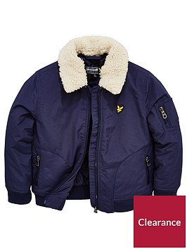 lyle-scott-boys-faux-shearling-collar-bomber-jacket