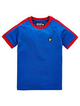 lyle-scott-boys-short-sleeve-taped-t-shirt