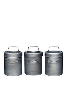 kitchencraft-industrial-kitchennbspset-of-3-storage-canisters