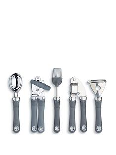 kitchen-craft-5-piece-stainless-steel-soft-grip-gadget-set