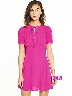 miss-selfridge-plain-tea-dress