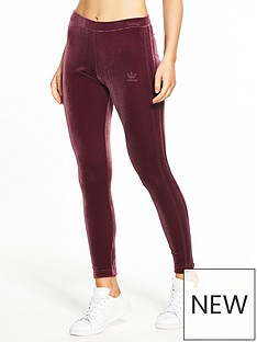 adidas-originals-velvet-vibes-tight-maroonnbsp