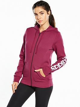 adidas-essentials-linear-full-zip-hoodie-cherrynbsp