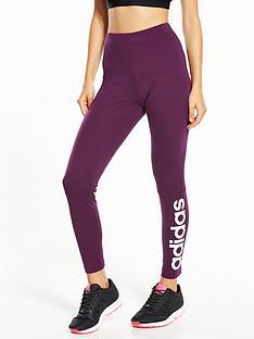 adidas-essentials-linearnbspleggings-cherrynbsp