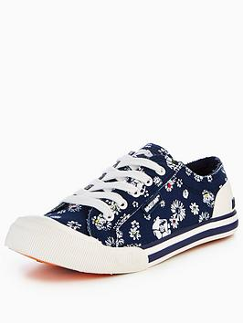 rocket-dog-jazzin-lilly-printed-plimsoll