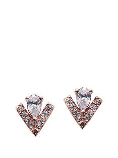 carat-london-carat-london-rose-gold-plated-on-sterling-silver-pear-cut-key-stone-and-micro-set-victoria-stud-earrings