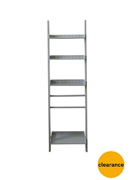painted-wall-leaning-shelf-grey