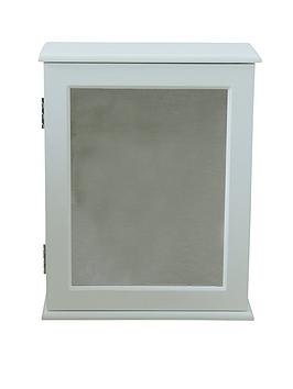 painted-hanging-bathroom-wall-cabinet-with-mirror