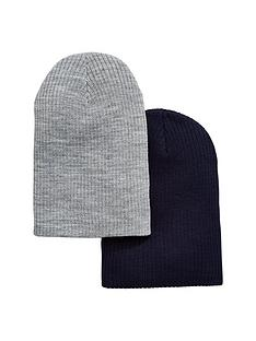 v-by-very-mens-2-pack-slouch-beanies