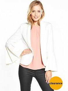 v-by-very-premium-fluted-sleeve-blazer