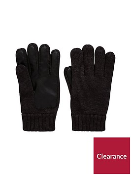 v-by-very-mens-pu-amp-knit-gloves