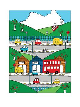 catherine-lansfield-transport-wall-art