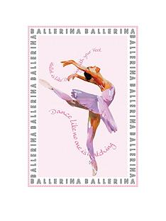 catherine-lansfield-ballerina-wall-art