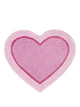 catherine-lansfield-heart-shaped-rug